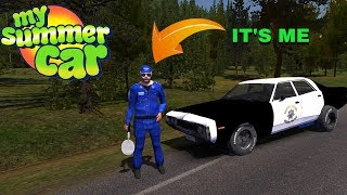 I'M A POLICEMAN! - My Summer Car Story #62