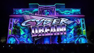 Cyber Dream- The Neon Unconscious at LUMA Projection Arts Festival  2018