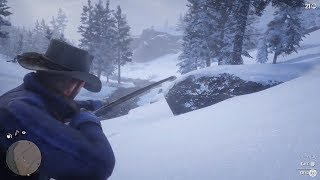 Red Dead Redemption 2 - Hunting Gameplay