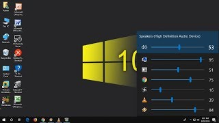 Individual Apps Volume Control for Windows 10/8/7