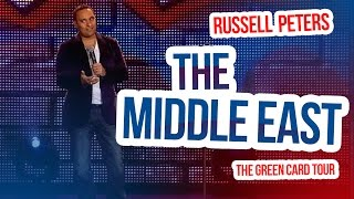 """""""The Middle East""""   Russell Peters - The Green Card Tour"""