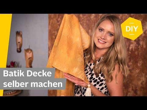 DIY: Batik Decke selber machen (Arashi Shibori Technik) | Roombeez – powered by OTTO