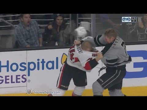 Matt Greene vs. Mark Borowiecki
