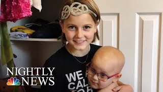 11-Year-Old Cancer Survivor Starts Foundation To Help Other Children Fight Back   NBC Nightly News