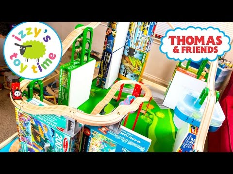 Thomas and Friends | Thomas Train Wooden Railway TALLEST TRACK EVER! Fun Toy Trains for Kids w Brio