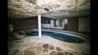 ABANDONED Dealers 1970s Weird Looking House With Indoor Pool & Sauna