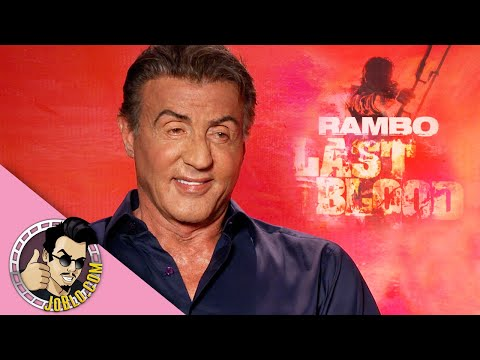 Sylvester Stallone interview for Rambo: Last Blood!
