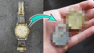 Schaffe ich es die gefundene alte Uhr zu reparieren?