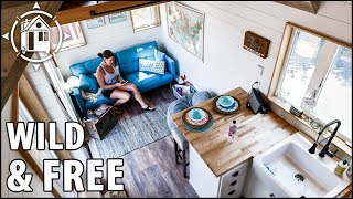 Stunning TINY HOUSE for a Retired Cop Seeking Life on the Road