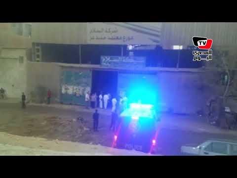الشرطة تعاين موقع قتل كاهن كنيسة «مدينة السلام»