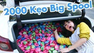 Được Tặng 2000 Cái Kẹo Hubba Bubba Big Spool Cực Khủng