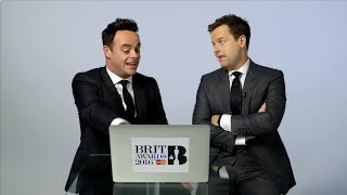 Ant and Dec look back at The BRIT Awards 2015