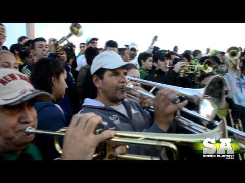 """La orquesta de La Pesada (Entretiempo Vs. San Lorenzo)"" Barra: La Pesada del Puerto • Club: Aldosivi"