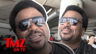 Craig Robinson Can't Stop Sweating! | TMZ TV