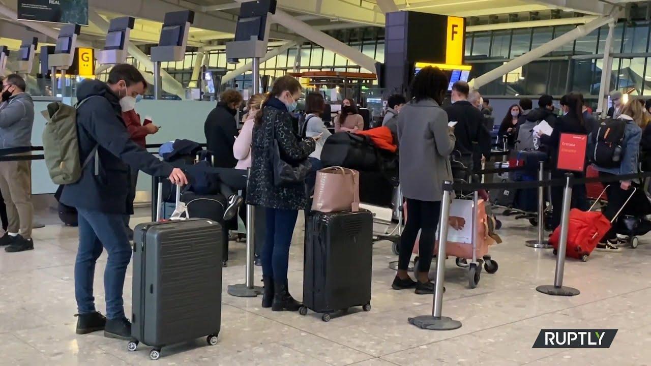 Πολλές χώρες διακόπτουν τις πτήσεις με το Ηνωμένο Βασίλειο
