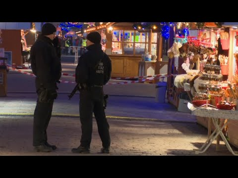 German Christmas market evacuated after nail-packed device found
