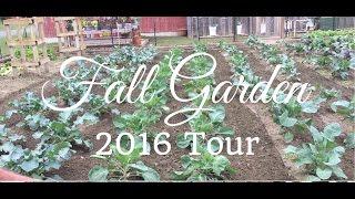 Fall Vegetable Garden Tour