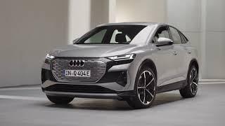 El futuro tiene una sola forma. Nuevo Audi Q4 Sportback e-tron. Trailer