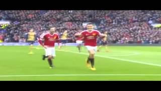 Cuplikan Gol Manchester United Vs Arsenal 32 28022016