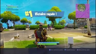 VICTOIRE royale [ fortnite Battle royal ]