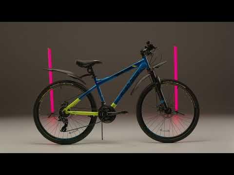 """Велосипед горный 26"""" XS650 DISC AL 21ск RUSH HOUR"""