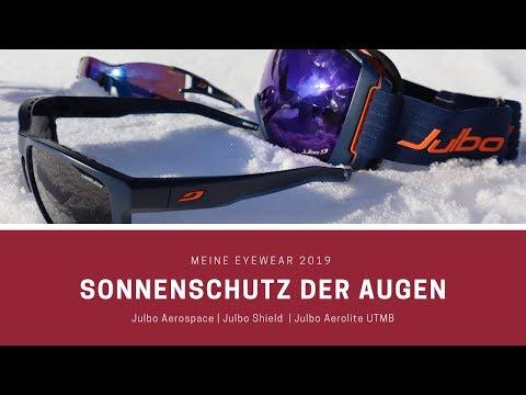 Meine Eyewear 2019   UV-Schutz   Julbo Aerolite UTMB -  Julbo Shield Cameleon - Julbo Aerospace