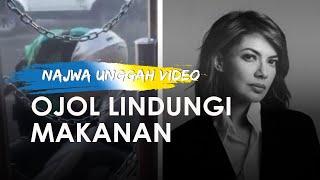Najwa Unggah Video Ojol Lindungi Pesanan dari Mobil Penyemprot Disinfektan, Tuai Pujian dari Netizen