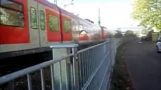 preview picture of video 'Wendlingen (Neckar) + Ortsdurchfahrt (im ET 430) - S-Bahn Stuttgart'