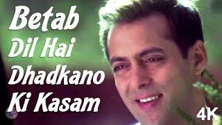 Betab Dil Hai Dhadkano Ki Kasam | Salman Khan | Shilpa Shetty | 4K Video Song | 🎧 HD Audio