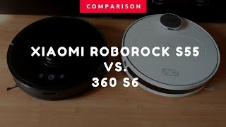 Which one is the best: the Roborock S5 vs. the 360 S6 Robot Vacuum Comparison