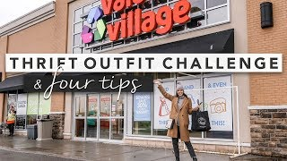 Come Thrifting With Me Outfit Challenge & My Thrifting Tips | by Erin Elizabeth