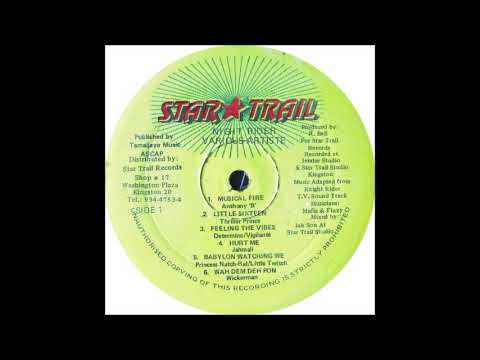 Night Rider Riddim Mix (1998) Anthony BDetermineNorrismanJahmali & More (Star Trail)