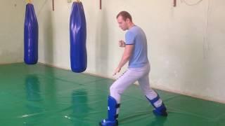 Стойка в тайском боксе  - урок 1ый