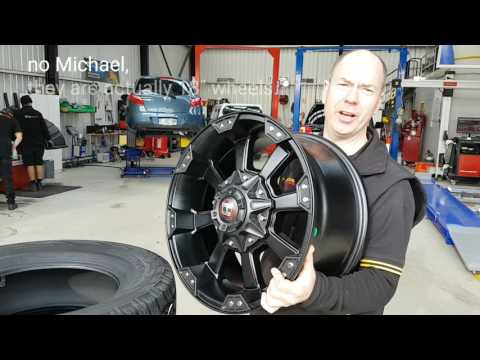 18 inch ballistic morax wheels onto toyota landcruiser