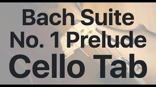 Learn Bach  Suite No. 1 Prelude on Cello - How to Play Tutorial
