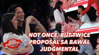 NOT ONCE, BUT TWICE PROPOSAL SA BAWAL JUDGMENTAL | Bawal Judgmental | February 14, 2020