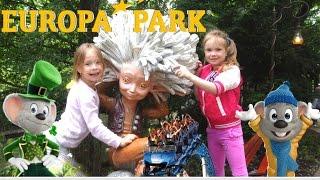 Europa-Park 2016 Germany /Европа парк 2016 Германия Часть 1