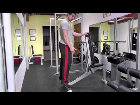 Body Weight Calf Raises