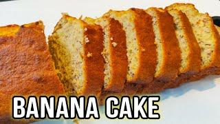 Banana Cake Recipe / The Most Fluffy And Easy Banana Cake Recipe 🍌🍌🥮🥮
