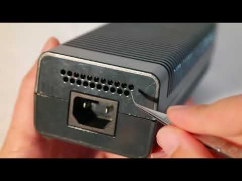 XBOX 360 Netzteil grob reinigen (ohne zerlegen)