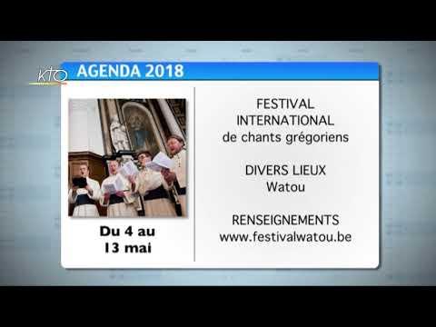 Agenda du 9 avril 2018