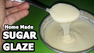 how to make drizzle icing with powdered sugar