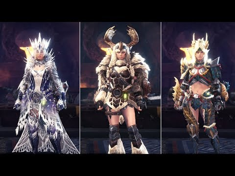 How Ridiculous Is The Female Equipment In This Game Monster