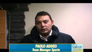 preview picture of video 'SPARTA POMIGLIANO vs. SANT'EGIDIO - Metropolis TV'