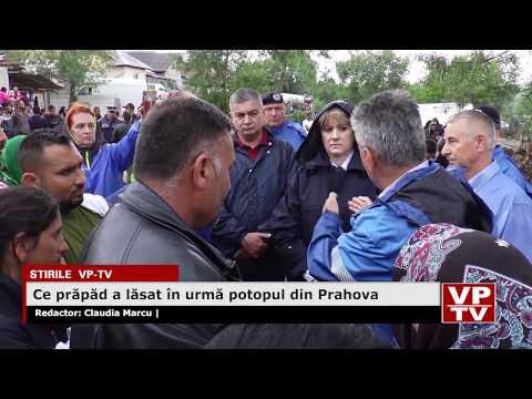 Ce prăpăd a lăsat în urmă potopul din Prahova