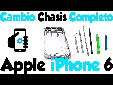 Cómo cambiar chasis iPhone 6 - ¡Tutorial Completo!