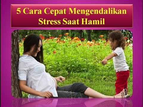 Video 5 Cara Cepat Mengendalikan Stress Saat Hamil