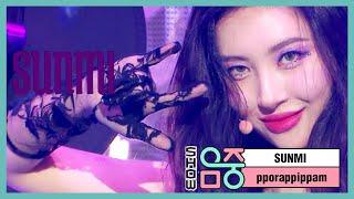 [쇼! 음악중심]  선미 -보랏빛 밤 , SUNMI -pporappippam 20200704