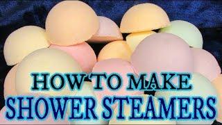 DIY HOW TO MAKE SHOWER STEAMERS - SUPER EASY!