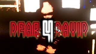 DEAR DAVID 4: EL FIN SE ACERCA  ~ Angel David Revilla